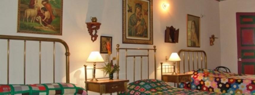 Habitacion en acomodacion multiple. Fuente: haciendalacabana.com